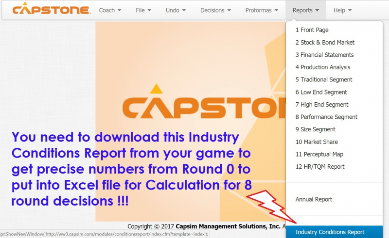 capsim report Capsim report - download as powerpoint presentation (ppt / pptx), pdf file (pdf), text file (txt) or view presentation slides online.